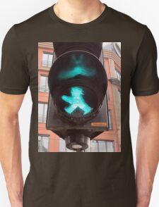 Ampelmännchen, Green Traffic Man, Berlin Unisex T-Shirt