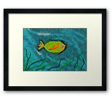 Weird Fish Framed Print