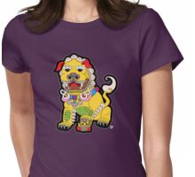 Golden Temple Lion - Female Womens Fitted T-Shirt
