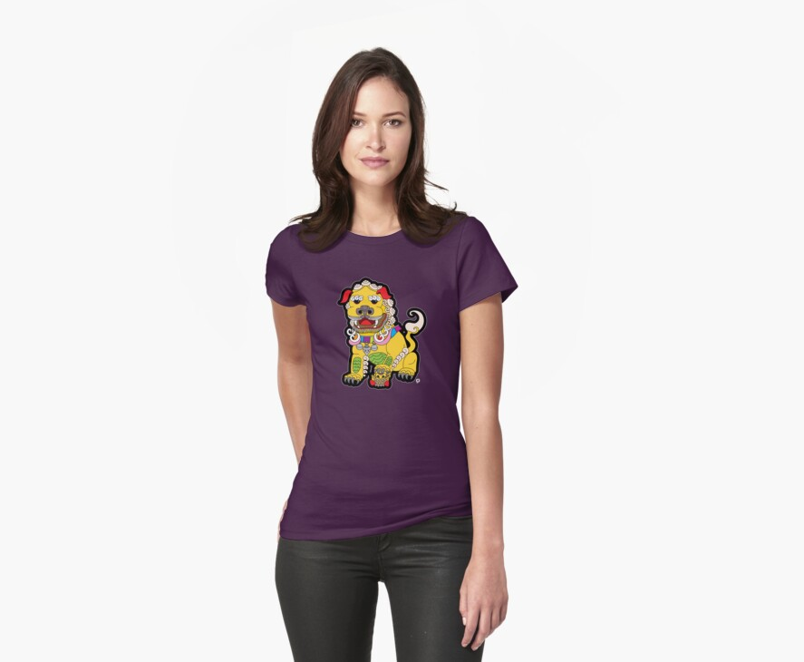 Golden Temple Lion - Female by thickblackoutline