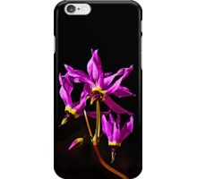Shooting Stars on Black iPhone Case/Skin