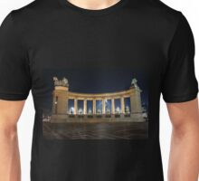 Heroes' Square at Night Unisex T-Shirt