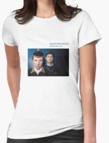Sleaford Mods Divide and Exit Womens Fitted T-Shirt