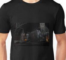 Vajdahunyad Castle at Night Unisex T-Shirt