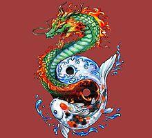 Dragon, Carp by borines