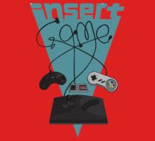 Insert Game Retrogaming Kids Clothes