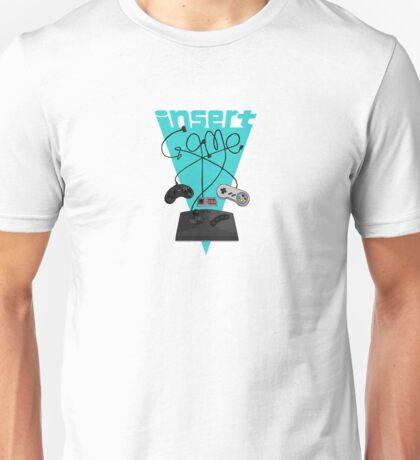 Insert Game Retrogaming Unisex T-Shirt