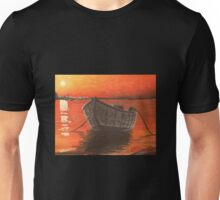 Dock at Sunset Unisex T-Shirt