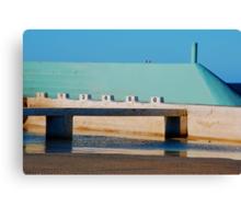 Can't Wait for Summer - Newcastle Ocean Baths Canvas Print