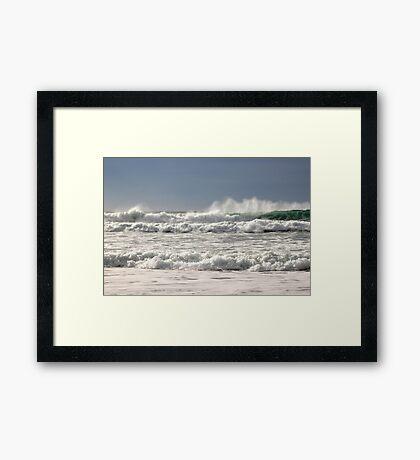 Surfs Up! Framed Print