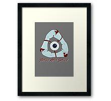 Three Arm Sally Framed Print