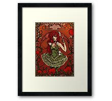 Queen of Poisons Framed Print