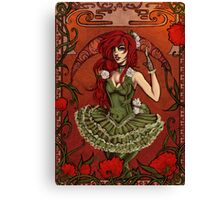 Queen of Poisons Canvas Print