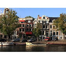 Amsterdam Canal Photographic Print