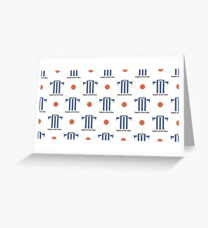 Brighton & Hove Albion Greeting Card