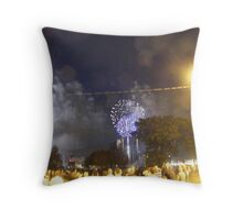 Fireworks in Canada Throw Pillow