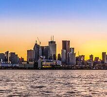 Toronto Skyline 5 by John Velocci