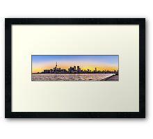 Toronto Skyline 5 Framed Print