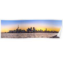 Toronto Skyline 5 Poster