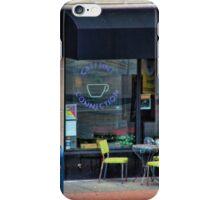 Sidewalk cafe iPhone Case/Skin