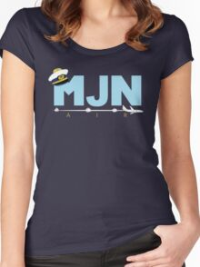 MJN Air  Women's Fitted Scoop T-Shirt