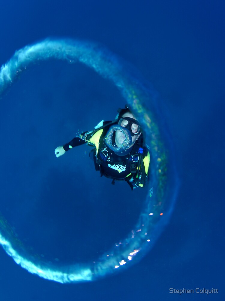 Rings around me by Stephen Colquitt