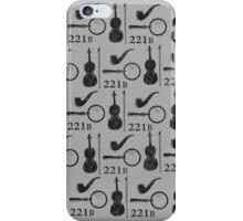 Sherlock Holmes Pattern iPhone Case/Skin