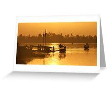 Srinagar Sunset - Kashmiri Greeting Card