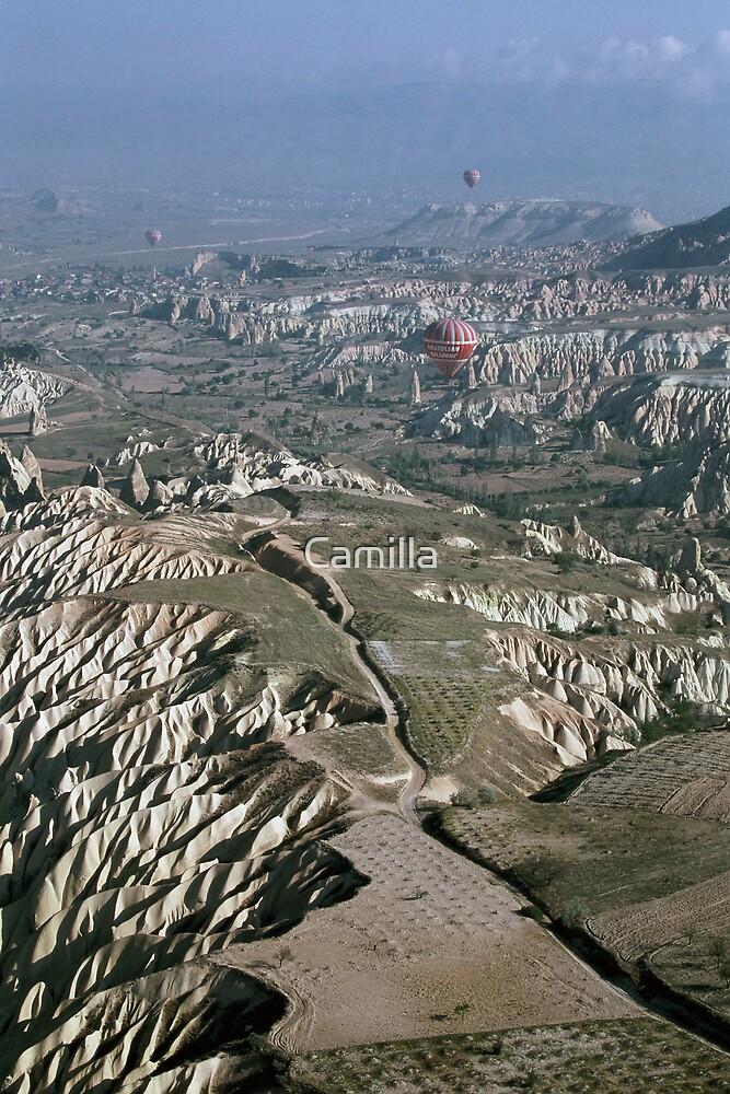 Turkey Hot Airballooning by Camilla
