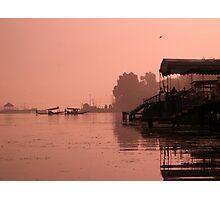 Sunrise Over Srinagar Lake - Kashmiri Photographic Print