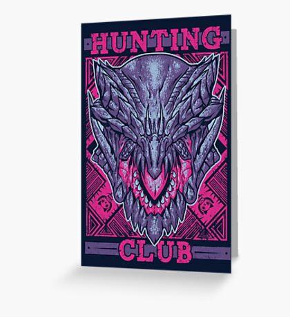 Hunting Club: Gore Magala Greeting Card
