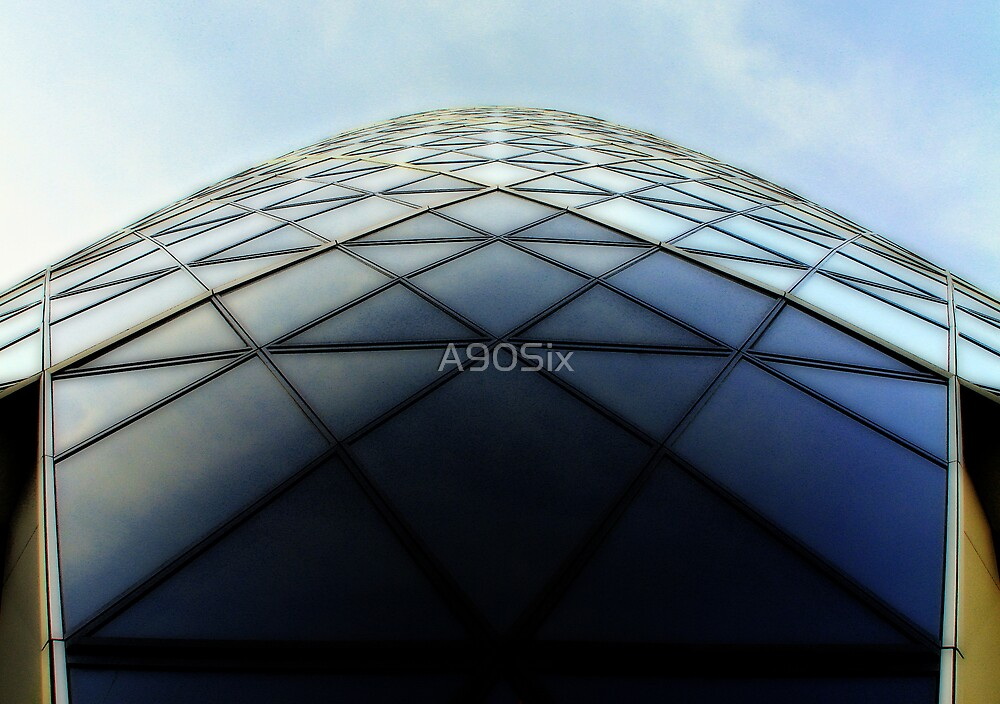 30 St Mary Axe (The Gherkin) by A90Six
