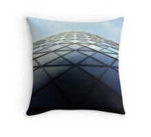 30 St Mary Axe (The Gherkin) Throw Pillow