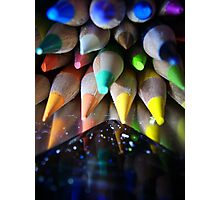 Stack of Colour Photographic Print