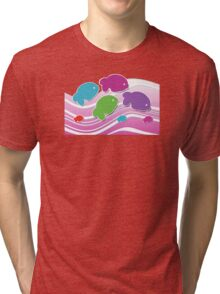 Koi Koi Carp TShirt Tri-blend T-Shirt