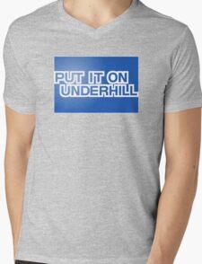 Put It On Underhill Mens V-Neck T-Shirt