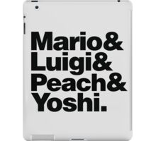 Super Mario & Friends iPad Case/Skin