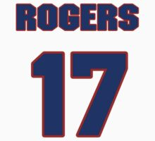 National baseball player Rogers McKee jersey 17 by imsport