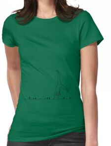 Years away from here Womens Fitted T-Shirt