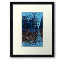 The Underground Favela. Framed Print