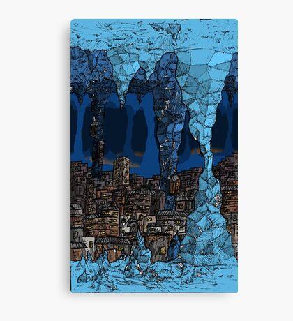 The Underground Favela. Canvas Print