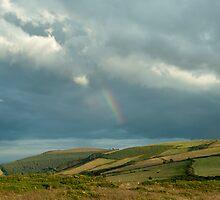Rainbow over Bray by MariaVikerkaar