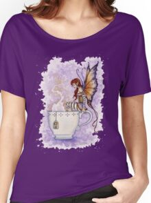 Warm Toes Tea Faery Women's Relaxed Fit T-Shirt