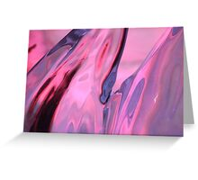 PinK Emotions  - JUSTART © Greeting Card