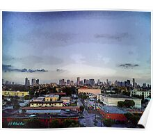 Miami at Dusk Poster