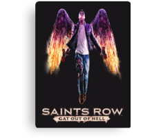 Saints Row: Gat out of Hell Canvas Print