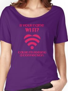 Wi Fi Valentines Women's Relaxed Fit T-Shirt