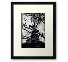 gothic.. Framed Print