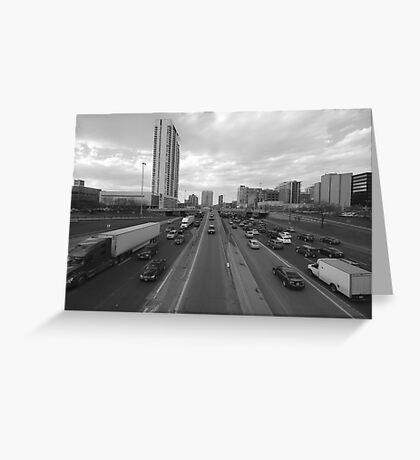 Traffic 1 Greeting Card