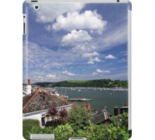 Dart Marina Viewed From Clarence Hill Road, Dartmouth, Devon, UK iPad Case/Skin